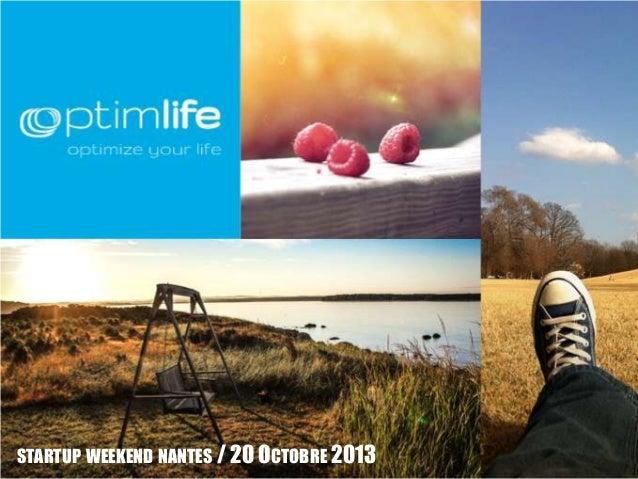 STARTUP WEEKEND NANTES / 20 OCTOBRE 2013