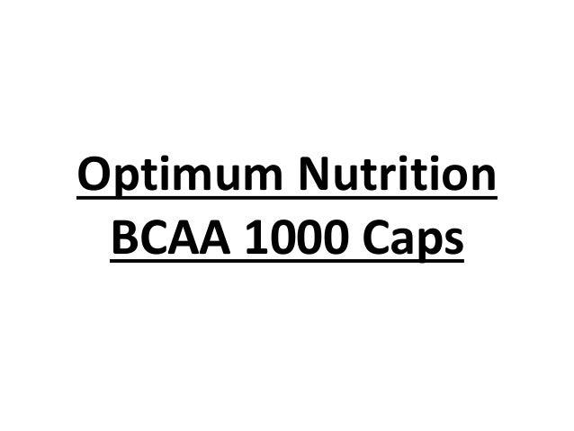 Optimum Nutrition BCAA 1000 Caps