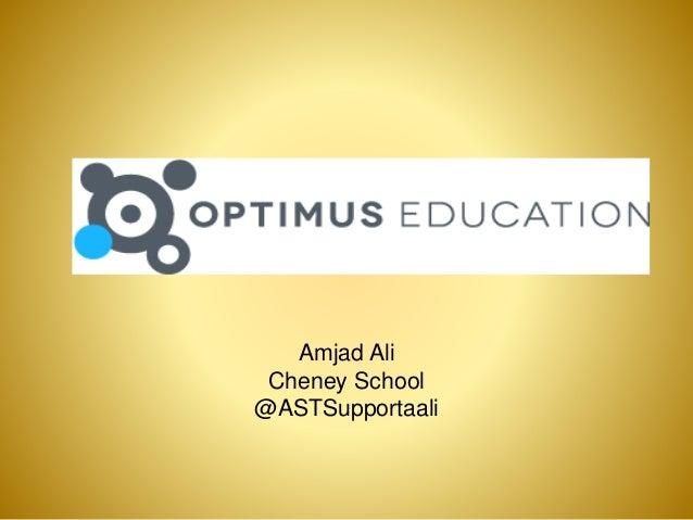 Amjad Ali Cheney School @ASTSupportaali