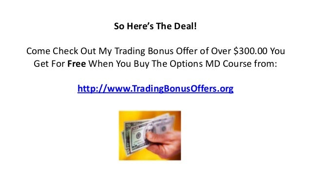 Profit from options trading school