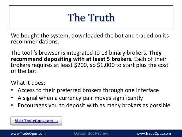 American regulated binary options brokers