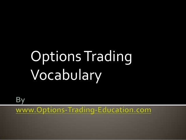 Option share trading tips