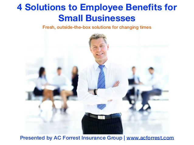 Group health insurance plans for small businesses