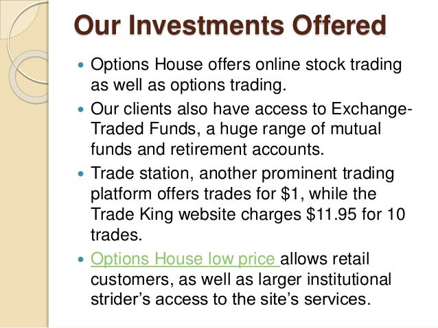 Stock options pricing