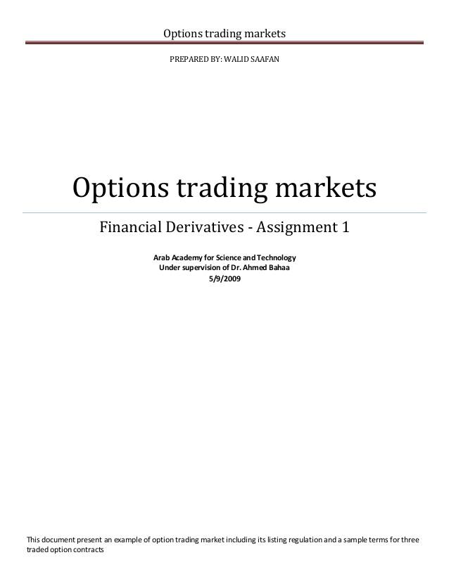 Option trading calculator software