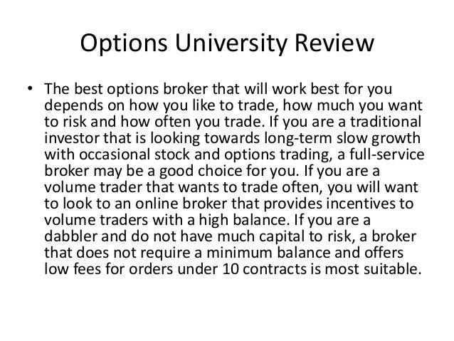 Best options trading platform reviews