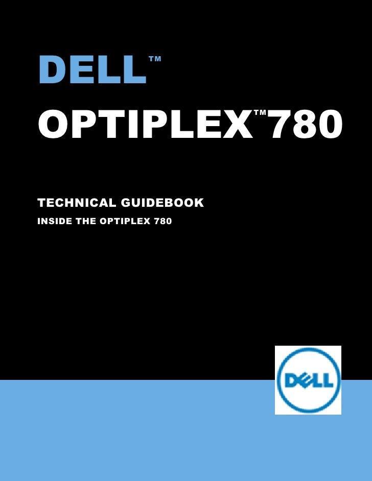 Optiplex 780-tech-guide