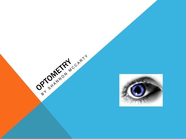 Optometry Presentation