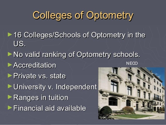 optometry school application essay