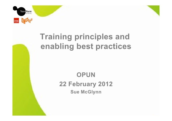 Opun principles training enabling finalpptx