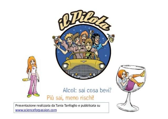 Opuscolo alcol   science for passion