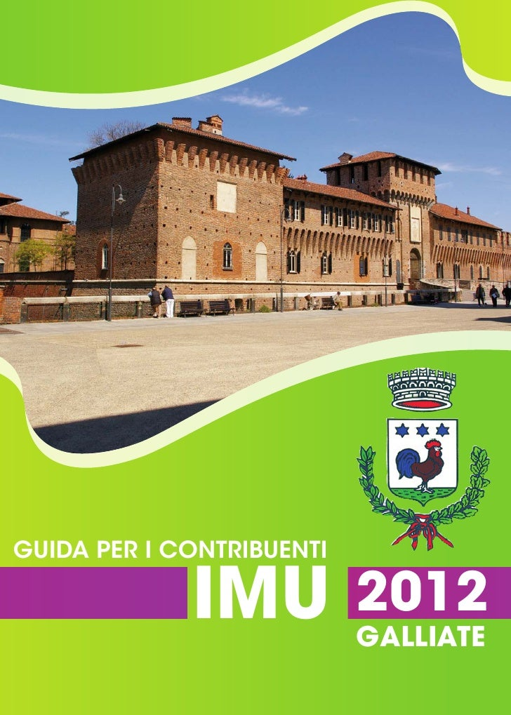 Comune di Galliate, guida all'IMU