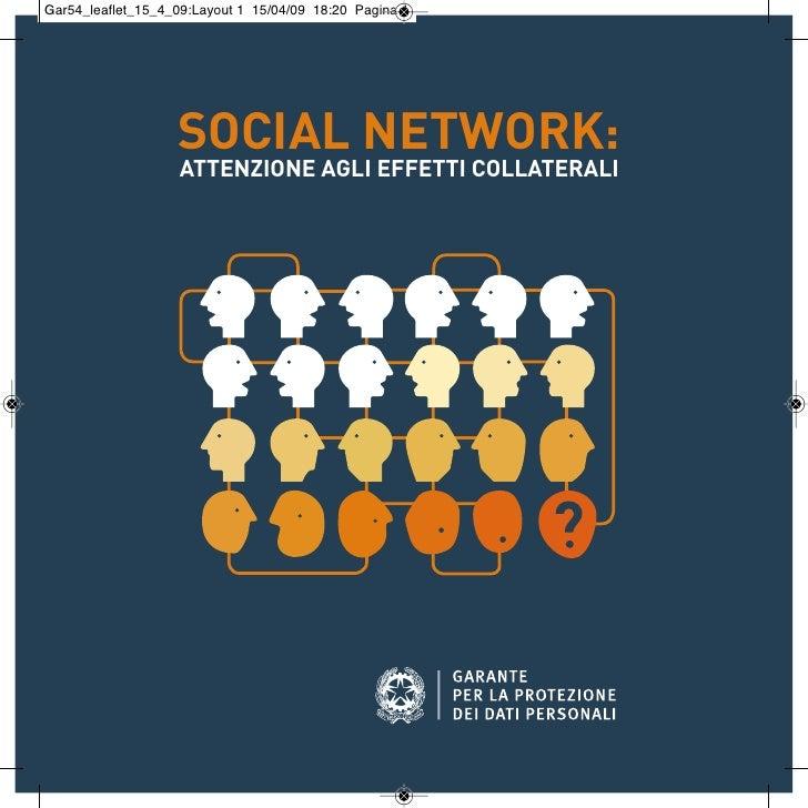 Social network: attenzione agli effetti collaterali
