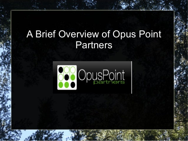 Opus point partners