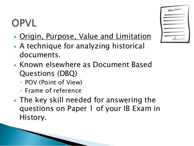 """opvl analysis the paper Sample """"opvl"""" paragraph  just try to structure your source analysis with these points in a logical sequence each one should build on top of previous points  process paper cargado por joemass2 englezaavansati cargado por krissteenag conflict of interest 2 cargado por."""