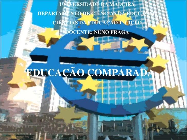 O Que Faz A UniãO Europeia