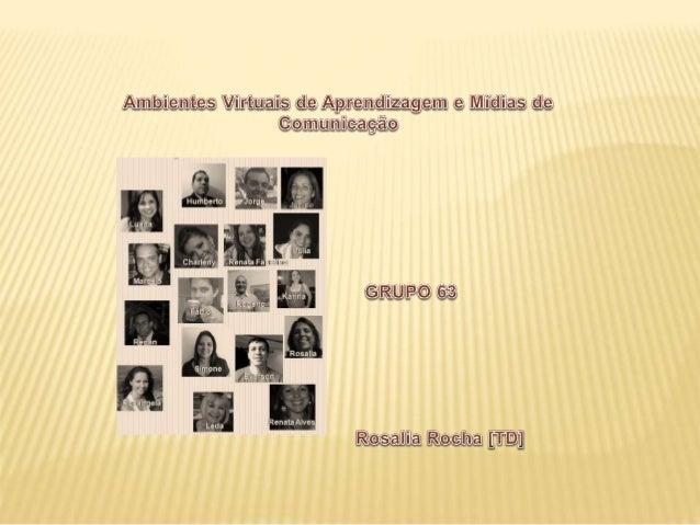 COSTA, Rosa Maria E. M. da ; MARINS, Vânia Interfaces. Material Didático. Disciplin---a AmbientesVirtuais e Mídias de Comu...