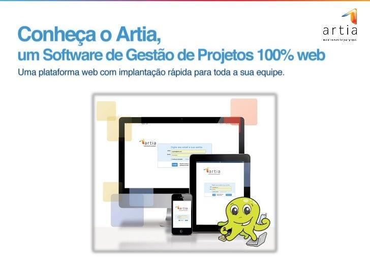 Benefícios no uso do Artia - Software web para Gestão de Projetos