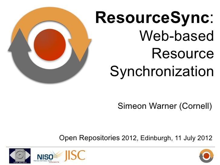 ResourceSync: Web-based Resource Synchronization