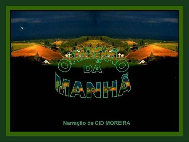 Narração de CID MOREIRA