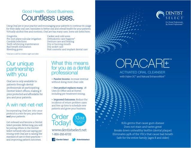 OraCare Brochure