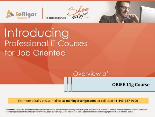 OBIEE Training and Placement Program