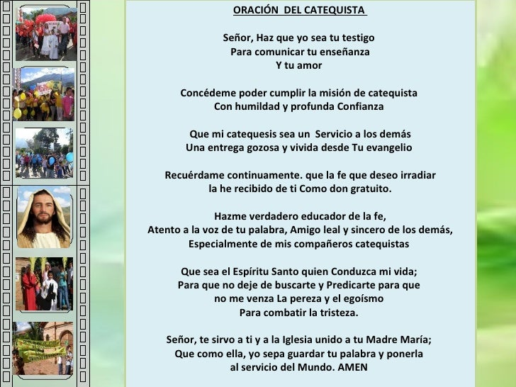 Oracion Del Catequista