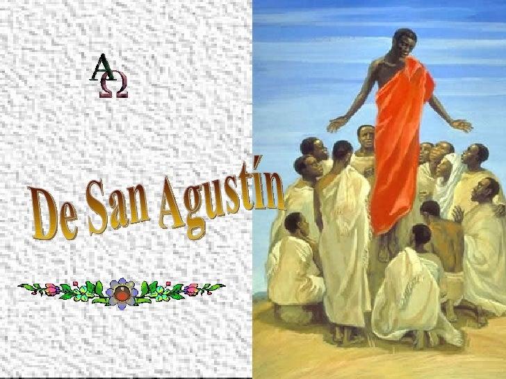 De San Agustín