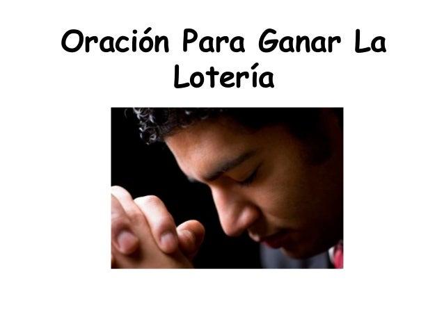 Oracion para ganar la loteria esta oracion es de las mas - Ritual para tener suerte ...