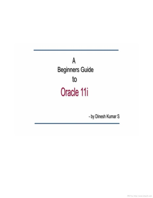 Oracle apps 11i tutorial(v2)