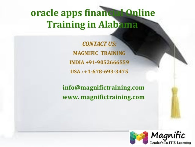 Oracle apps financial online training in alabama