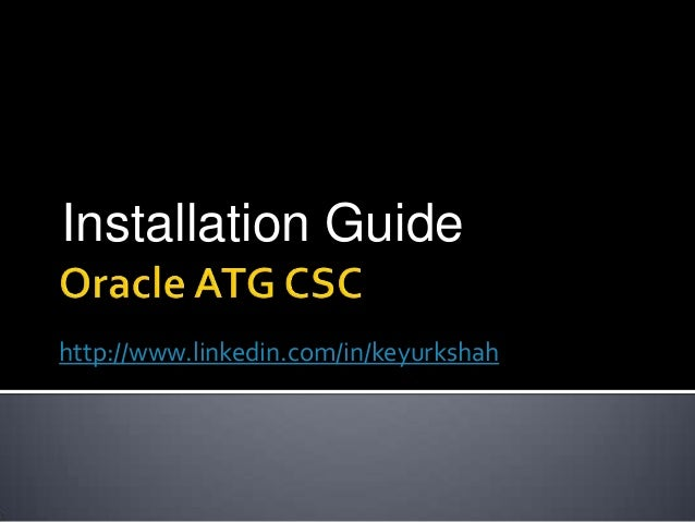 ATG CSC UI Customization | Devon Hillard's Site