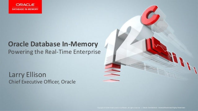 Larry Ellison Introduces Oracle Database In-Memory