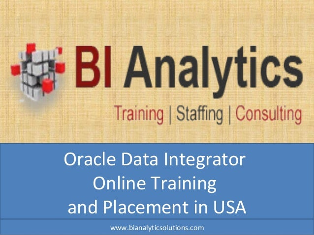 Oracle data integrator online training, oracle data integrator training, oracle data integrator courses