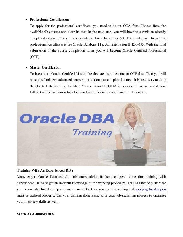 oracle dba sle resume for freshers bestsellerbookdb