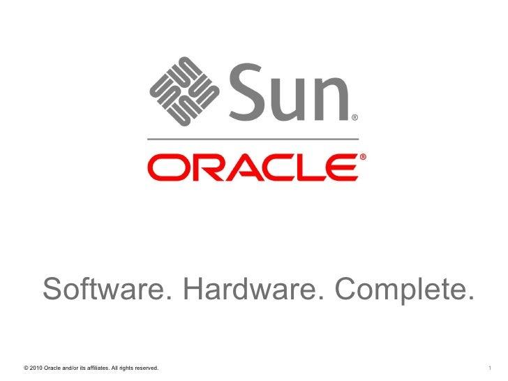 Software. Hardware. Complete.