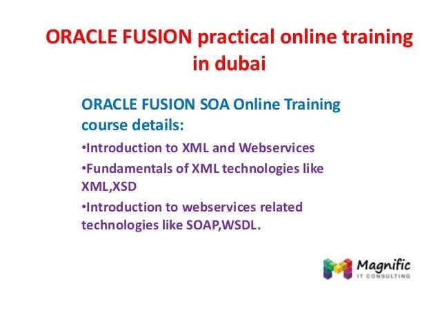 Oracle fusion practical online training in dubai