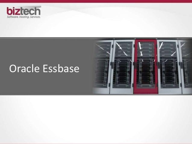 Oracle Hyperion Essbase