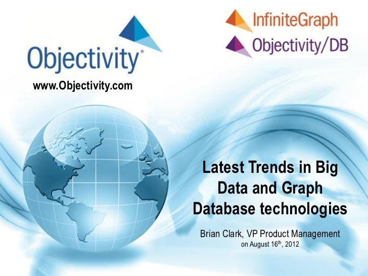 Oracle NoSQL DB & InfiniteGraph - Trends in Big Data and Graph Technology