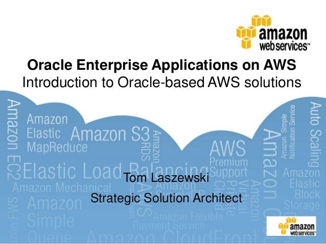 Oracle on AWS partner webinar series