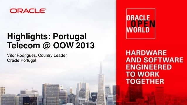 Oracle Open World Experience