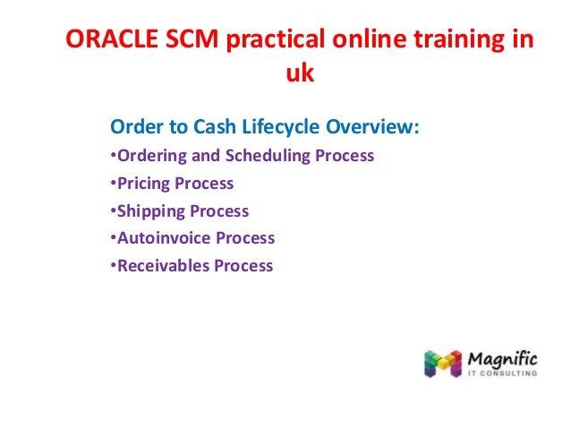 Oracle scm practical online training in uk