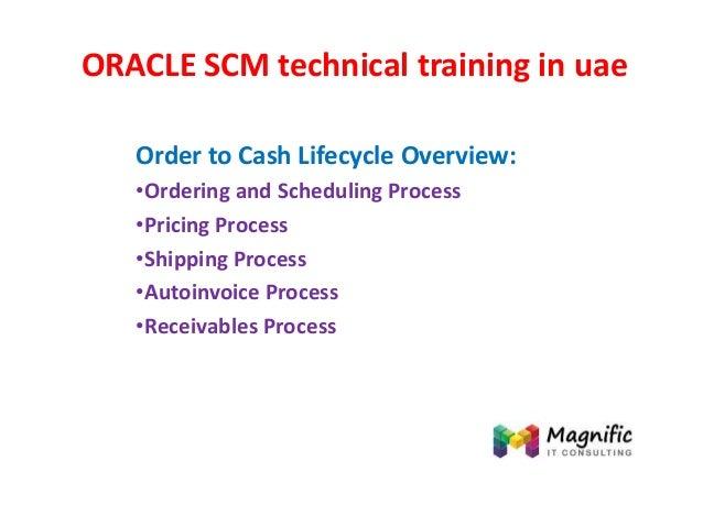 Oracle scm technical training in uae