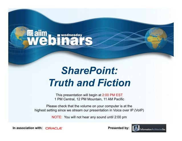 SharePoint: Truth and Fiction