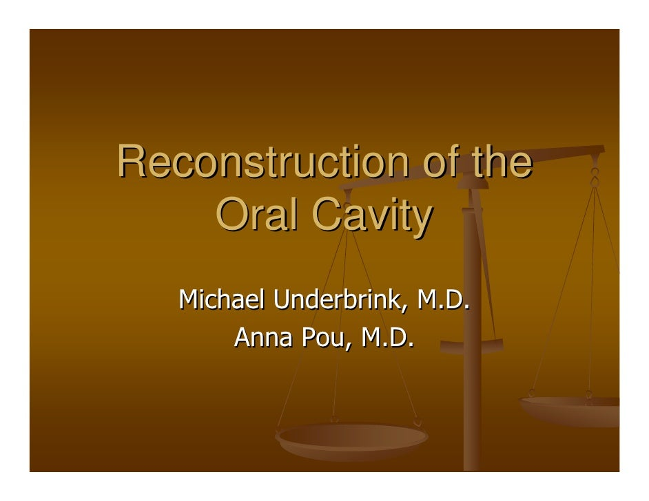 Oral Cavity Recon Slides 030212