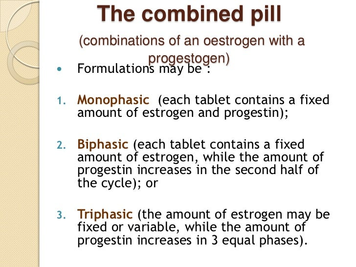 benefits of triphasic contraceptives Objective: to review and compare the risk-benefit profile of triphasic oral  contraceptives with that of low-dose monophasic oral contraceptives design:  literature.