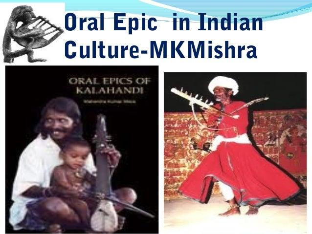 Oral Epics in India
