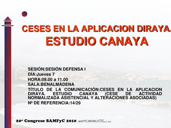 Estudio Canaya