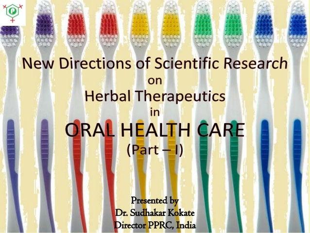 Presented by Dr. Sudhakar Kokate Director PPRC, India