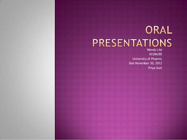 oral dissertation presentation